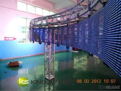 P15.625 Video Curved Curtain Led Display