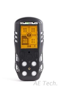 IP66 CE ATEX Certified Portable Multi Gas Detector