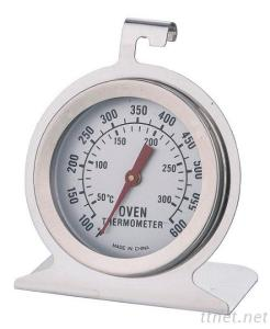 Stainless Steel Cooking Oven Thermometer With Hook