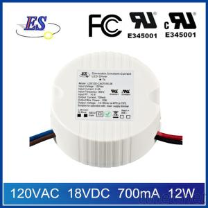 12W Dimmable LED Driver Power Supply with TRIAC Dimmer