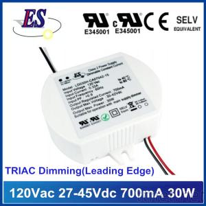 30W LED Driver With TRIAC/ELV Dimmer, Leading/Trailing Edge Dimming