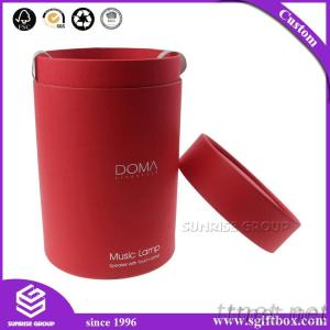 Functional Premium-Grade Round Flower Box with Lid