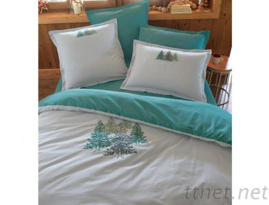 100% Cotton Embroidery Bedding Set/Duvet Cover/Bedlinen/Bed Sets