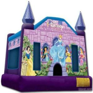 Snow White Inflatable Castle