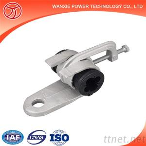 Wanxie ABC Suspension Clamp Hook Type Suspension Insulation Conducor Clamp