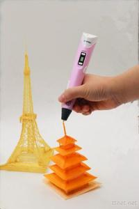 Educational DIY Stereo Graffiti 3D Printing Printer Drawing Painting Pen V2