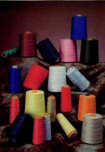 100% spun polyester yarn in diffrence color