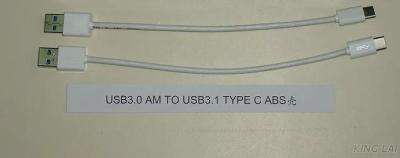 Usb3.0 Am TO Usb3.1 Type C ABS