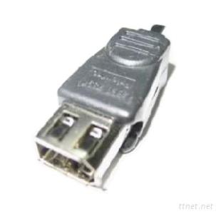 D-SUB Cable VGA, 1394 Cable - FIREWIRE 6P FEMALE TO 4P MALE