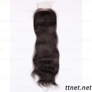 16 Inches Indian Remy Hair, Natural Straight Top Closure (3.5X4)