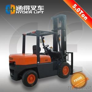 Small 5 Ton Diesel Forklift