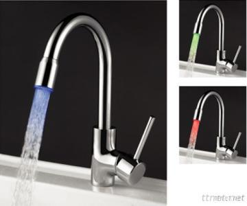 LED Color Changing Kitchen Faucet