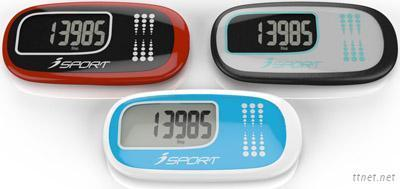 Touch Control Panel Pedometer