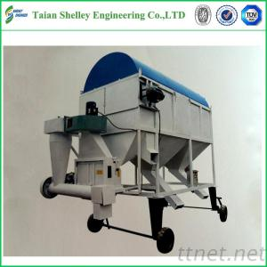 Hot Sale Movable Grain Seed Cleaning Machine