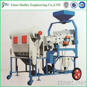 Combined Vibrating Screen Seed Cleaning Machine For Sale