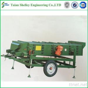 Moving Type Vibrating Screen Grain Cleaning System Cost