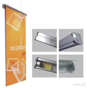 Scrolling Roll Up Display Banner Stands