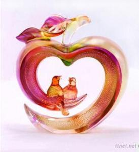 Liuli Art Craft Peace And Happiness For Wedding Gift