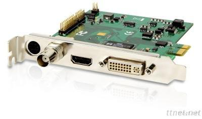 1080P PCIe DVI SDI Ypbpr VGA HDMI Video Capture Card With RCA Output