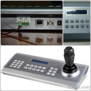 Remote Control 6 Axis DVR Dome Camera Video Conference Camera Sony Series VISCA CCTV Keyboard Controller