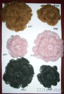 Hand-Made Mohair Flowers