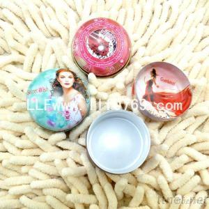 Small Metal Tin Boxes For Cosmetic Balm Cream