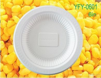 Biodegradable Disposable Plate (Yfy-0601)
