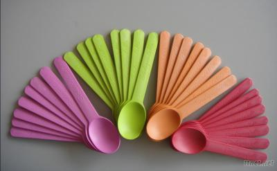 Biodegradable Corn Starch Cheese Spoon