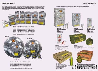 Fireworks or Pyrotechnic Products