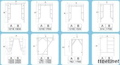 Ladders And Scaffolding Products