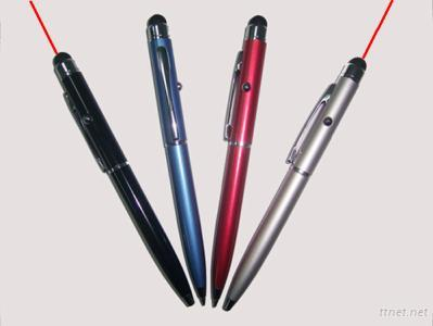 Capacitive Touch Pen, Red Laser, Ball Pen