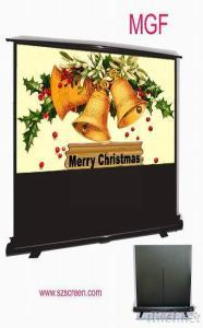 Extension Pole Floor Projection Screen