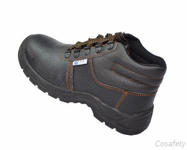 Black Steel Toe Safety Boots