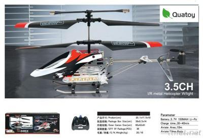 Quatoy 3.5 Channel R/C RC Helicopter With Gyro