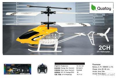 2 Channel R/C Helicopter With Light And Gyro