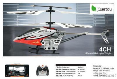 4 Channel R/C Helicopter With Light And Gyro