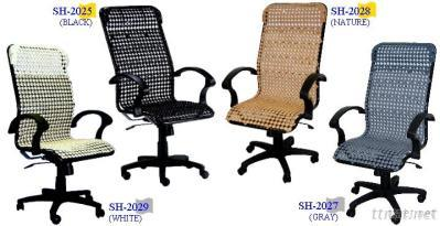 Healthy Wooden-beaded Office Chair