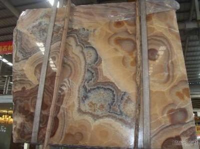 Orange Onyx-New Marble Slab(LY002#1)