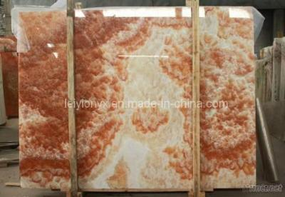Chinese Red Onyx Slabs