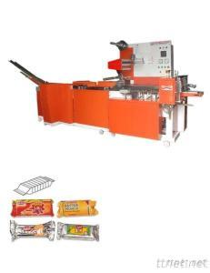 On Edge Biscuit Packing Machine