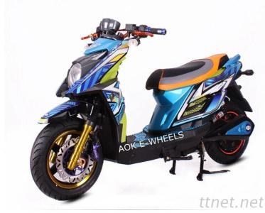 2000W Powerful Electric Motorcycle With Disk Brake, Adult Electric Motor Motorcycle