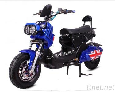1200W Adult Electric Motorbike, Electric Motorcycle With Large Front Lamp