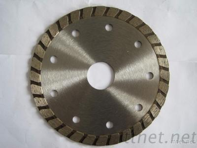 Hot Pressed Sintered Wide Teeth Turbo Blade
