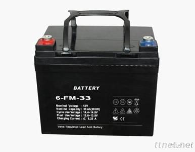 12V17AH Sealed Lead Acid Battery With High Performance