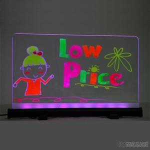 Led Neon Notice Board With Hanging Or Placing