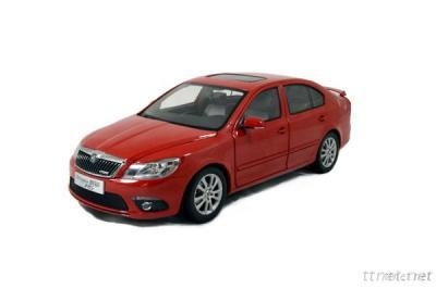 Mini Car 1: 18 Skoda Octavia VRS Plastic Model