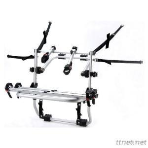Universal Rear Mounted Aluminum Bike Carrier, Car Rack