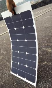 50W Sunpower Semi-Flexible Solar Panel