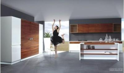 Kitchen Cabinets-High Glossy, Bright And Durable