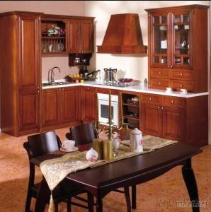 Kitchen Cabinets, Solid Wood, Durable